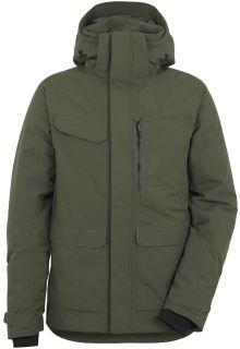 Didriksons---Raincoat-for-men---Sebastian-Parka---Deep-Green