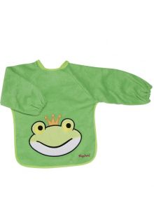 Playshoes---Sleeve-bib-with-long-sleeves-for-kids---Onesize---Green