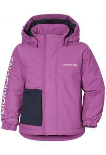 Didriksons---Rain-jacket-for-babies---Lovis---Radiant-Purple