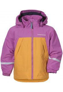 Didriksons---Rain-jacket-with-fleece-lining-for-babies---Enso---Radiant-Purple