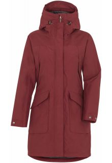 Didriksons---Raincoat-for-women---Agnes---Velvet-Red