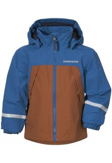 Didriksons---Rain-jacket-with-fleece-lining-for-babies---Enso---Classic-Blue