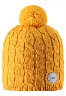 Reima---Beanie-for-children---Nyksund---Warm-Yellow