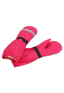 Reima---Rain-mittens-without-lining-for-girls---Kura---Candy-Pink