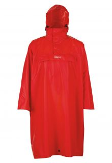 Pro-X-Elements---Hiking-poncho-for-adults---Arosa---Red