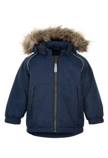 Color-Kids---Parka-jacket-for-baby-boys---Solid---Dark-blue