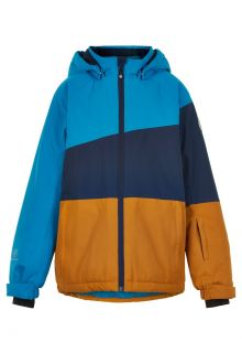 Color-Kids---Ski-jacket-for-boys---Colorblock---Surf-Blue/Dark-Blue/Honey