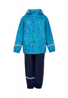 Color-Kids---Rainsuit-for-boys---AOP---Cyan-Blue
