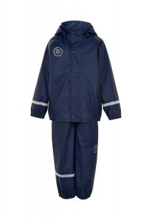 Color-Kids---Rainsuit-from-recycled-material-for-children---Solid---Dark-blue