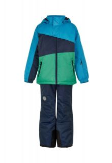 Color-Kids---Ski-suit-for-boys---Colorblock---Surf-Blue