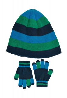 Color-Kids---Beanie-and-gloves-set-for-boys---Blue-Surf