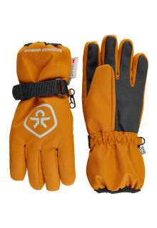 Color-Kids---Waterproof-gloves-for-children---Honey