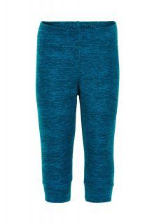 Color-Kids---Fleece-pants-for-babies---Melange---Dark-blue