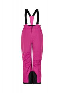 Color-Kids---Ski-pants-with-fixed-suspenders-for-girls---Solid---Rose-Violet