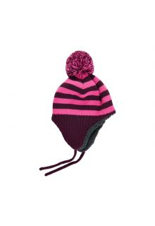 Color-Kids---Beanie-with-stripes-for-babies---Potent-Purple