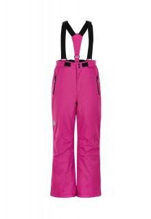 Color-Kids---Ski-pants-with-slim-fit-for-girls---Solid---Rose-Violet