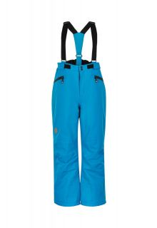 Color-Kids---Ski-pants-with-pockets-for-children---Solid---Blue-Surf
