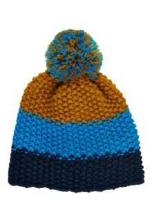 Color-Kids---Beanie-for-children---Stripes---Blue-surf