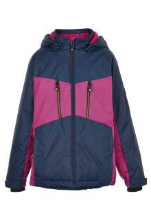 Color-Kids---Ski-jacket-for-girls---Melange---Rose-Violet