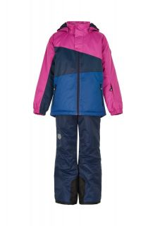 Color-Kids---Ski-suit-for-girls---Colorblock---Rose-Violet