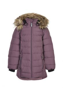 Color-Kids---Winter-jacket-for-girls---Quilted-Solid---Arctic-Dusk