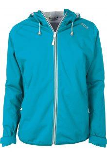 Pro-X-Elements---Packable-rain-jacket-for-women---Davina---Neon-turquoise