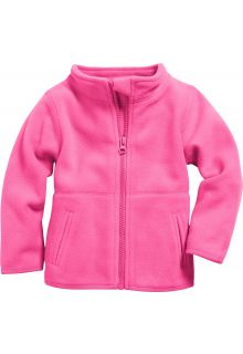 Playshoes---Fleece-jack-with-long-sleeves---Pink