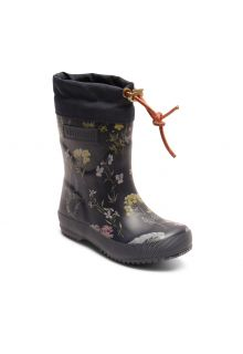 Bisgaard---Winter-boots-for-kids---Thermo---Flowers-Blue