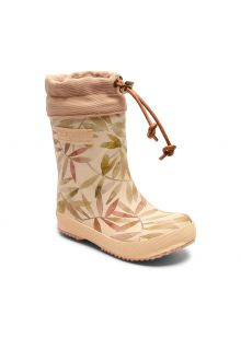 Bisgaard---Winter-boots-for-kids---Thermo---Beige-Leaves