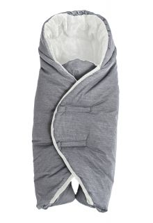 Altabebe---Footmuff-for-kid-seat-and-carrier---Grey/white