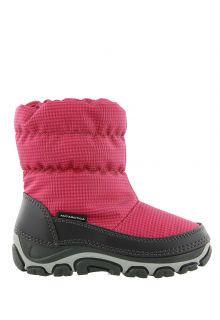 Antarctica---Snowboots-with-zipper-closure-for-children---AN-123---Fuxia/Black