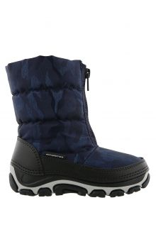 Antarctica---Snowboots-with-zipper-closure-for-children---AN-120---Black