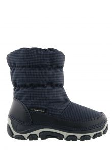 Antarctica---Snowboots-with-zipper-closure-for-children---AN-123---Blue/Black