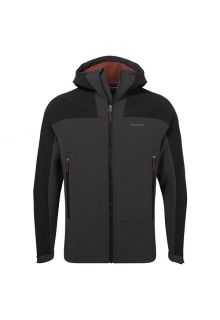 Craghoppers---Softshell-hooded-jacket-for-men---Tripp---Black-pepper