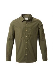 Craghoppers---UV-Shirt-for-men---Longsleeve---Kiwi-Boulder---Dark-Khaki