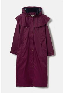 Lighthouse---Waterproof-coat-for-ladies---Outback---Plum