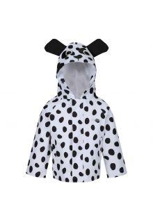 Regatta---Rain-Jacket-for-toddlers---Animals---Dog---White/Black
