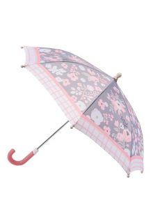 Stephen-Joseph---Umbrella-for-kids---Charcoal-Floral