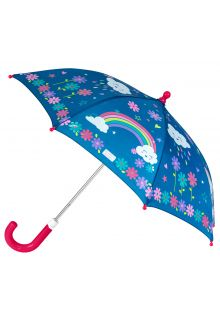 Stephen-Joseph---Color-changing-umbrella-for-girls---Rainbow---Dark-blue