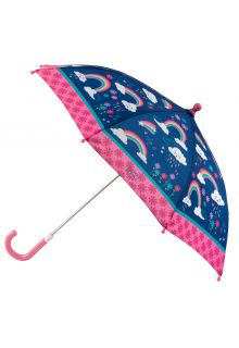 Stephen-Joseph---Umbrella-for-girls---Rainbow---Dark-blue/Pink