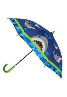 Stephen-Joseph---Umbrella-for-boys---Shark---Dark-blue