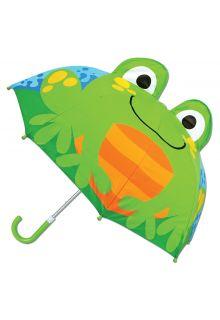 Stephen-Joseph---Pop-up-umbrella-for-children---Frog---Light-blue