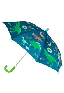 Stephen-Joseph---Color-changing-umbrella-for-boys---Dino---Dark-blue