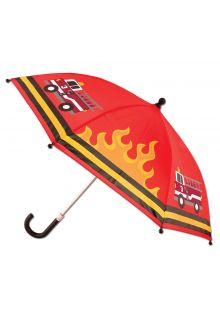 Stephen-Joseph---Umbrella-for-boys---Firetruck---Red