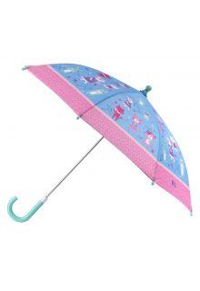 Stephen-Joseph---Umbrella-for-girls---Cats-&-Dogs---Light-blue/Pink
