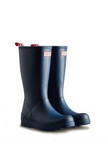 Hunter---Rainboots-for-women---Original-Play-Boots-Tall---Navy