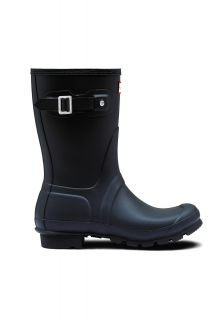 Hunter---Rainboots-for-women---Original-Short---Navy
