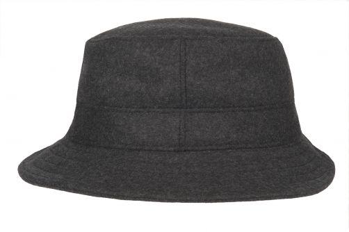 Hatland---Bucket-hat-for-men---Thim-Windstopper---Anthracite