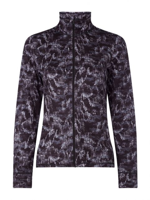 O'Neill---Full-zip-fleece-jacket-for-women---Clime---Black-AOP