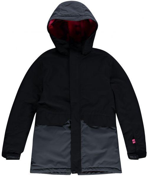 O'Neill---Ski-jacket-for-girls---Zeolite---Black-Out